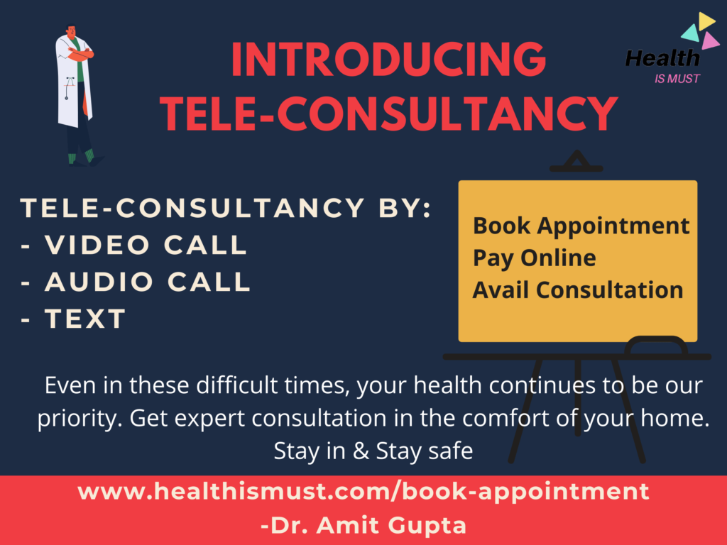 tele-consultancy by dr. amit gupta